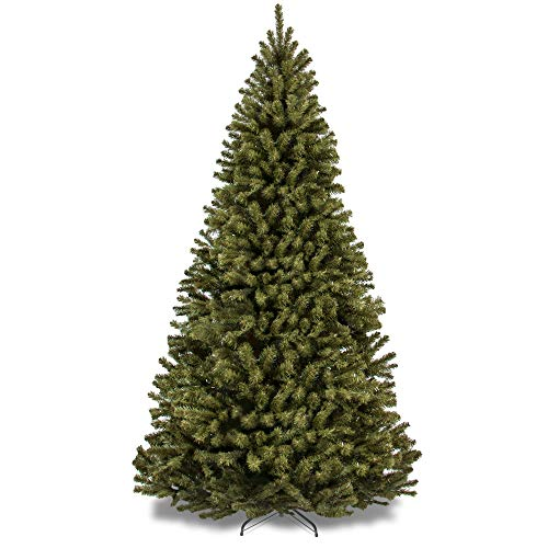 Best Choice Products 9ft Spruce Hinged Artificial Christmas Tree w/Easy Assembly, Foldable Stand (Pre Christmas Lit 8ft Tree)