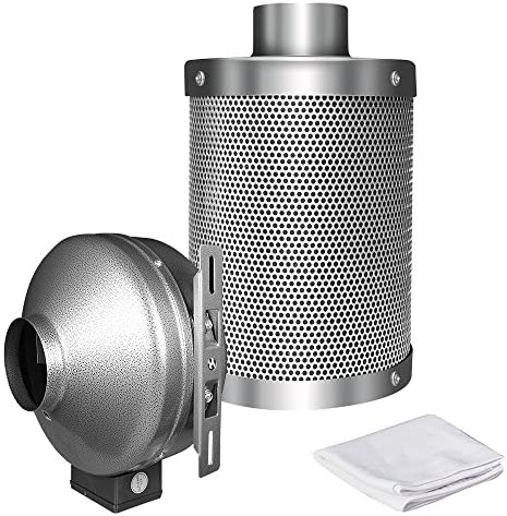 Through Wall Exhaust 2 Speed Fan Grow Room Air Vent Heat Transfer 7-5//8 in