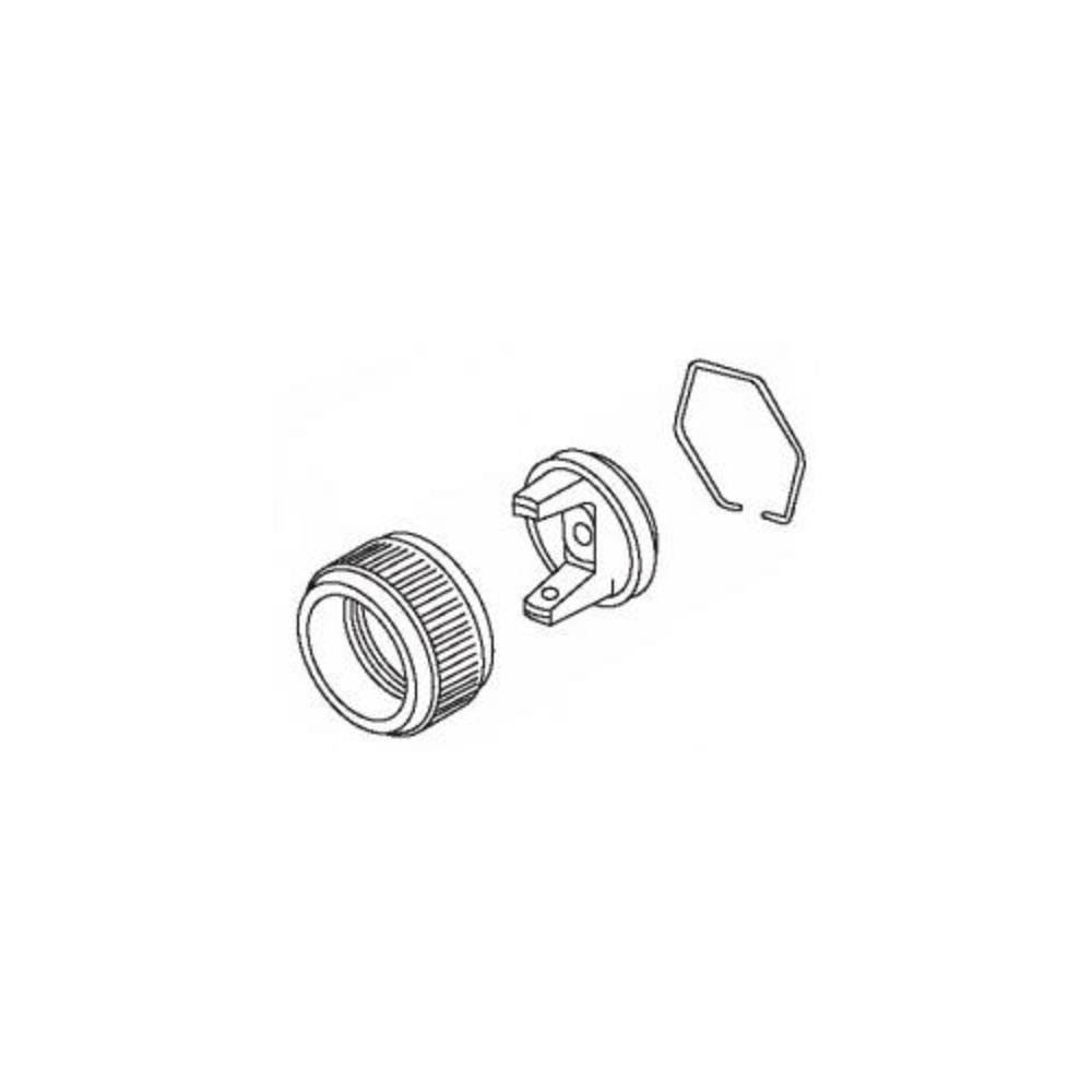 DEVILBISS AUTOMOTIVE REFINISHING - AIR CAP & RETAINING RING - DV192187