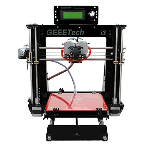 Moredental Geeetech Latest Acrylic I3 Pro C Dual Extruder 3D Printer Support 5 Materials