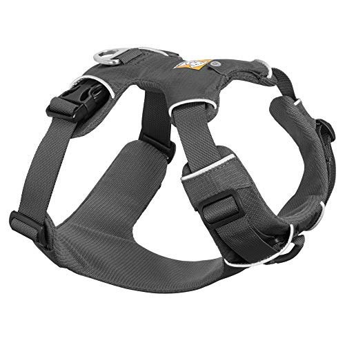 RUFFWEAR - Front Range, Everyday No Pull Dog Harness with Front Clip, Trail Running, Walking, Hiking, All-Day Wear, Twilight Gray (2017), Small