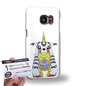 Case88 [Samsung Galaxy S7] 3D impresa Carcasa/Funda dura para & Tarjeta de garantía - Digimon Adventure Gabumon Garurumon WereGarurumon MetalGarurumon 0932