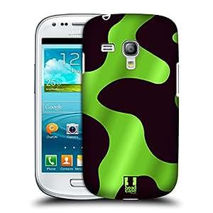 Head Case Designs Green Poison Dart Frog Patterns Hard Back Case for Samsung Galaxy S3 III mini