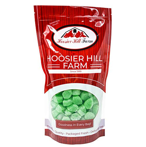 Spearmint Leaves, Hoosier Hill Farm, 5 lbs (Leaf Shaped Candy)