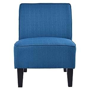 Amazon Com Giantex Deco Solids Accent Chair Armless