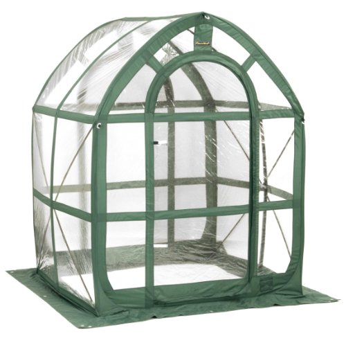 Flower House FHPH155CL PlantHouse 5 Pop-Up, Clear