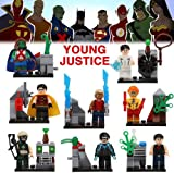 Lot of 8 Sets Minifigures Super Heroes Marvel.dc Series Young Justice No Box