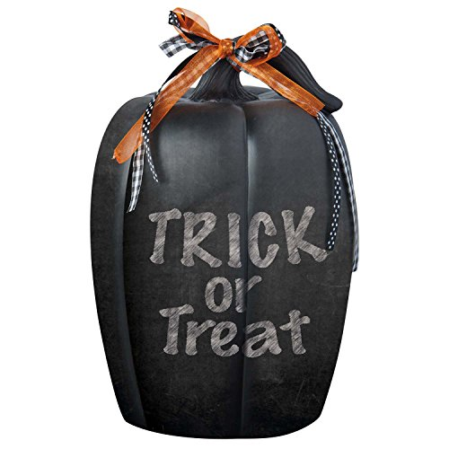 DII Halloween Accessories Party Décor, 7.5×12, Chalkboard Pumpkin