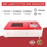 Orion Motor Tech 40W CO2 Laser Engraving Cutting