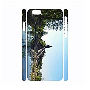 Nature Building Series Cute Phone Accessories Hard Platic Skin Case Cover for Iphone 6 - 4.7 Inch