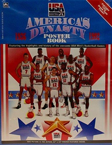 - USA MEN'S BASKETBALL America's Dynasty 1992 Full Color DREAM TEAM 22