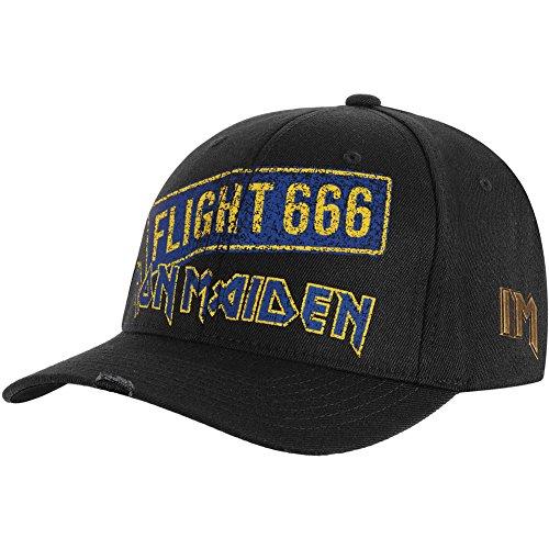 Iron Maiden Men's Flight 666 Baseball Cap Adjustable Black