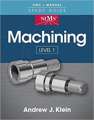Amazon com: NIMS Machining Level 1 Study Guide