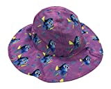 Disney Girls Finding Dory Bucket Hat Purple