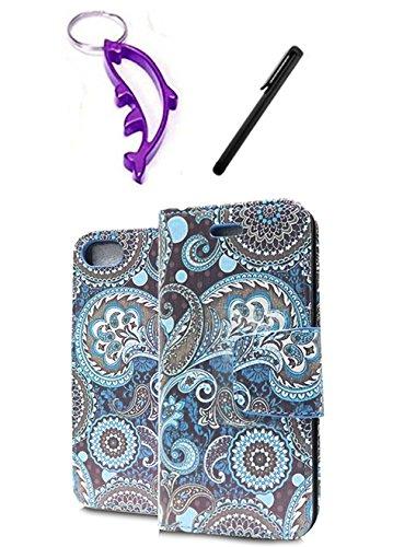 (Motorola Yangtze XT881 / Electrify 2 (US Cellular/Verizon) Hawaiian Flowers Design Hard Case Snap On Protector Cover + Free Opening Tool + Free Animal Rubber Band Bracelet )