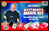 Jim Stott's 'Ultimate Magic Kit' Magic Set Featuring Ultimate Levitation System, Magic Card Box, Svengali Deck, Sponge Balls, 3 Rope Mystery, Pen Penetration, Plus Instructional Videos!