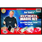 Magic is fun to watch and even more fun to perform! With Jim Stott's Ultimate Magic Kit, you will learn magic tricks that are actually used by professional magicians. Once you learn these tricks you will be able to amaze and astound your friends and ...