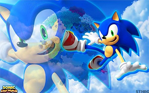 The Most Exciting Game Poster Sonic The Hedgehog Sonic Lost World Sega Nintendo Wiiu