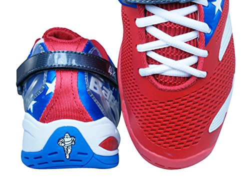Babolat Propulse 3 Andy Roddick Stars And Stripes Heren Tennis Sneakers / Schoenen Rood