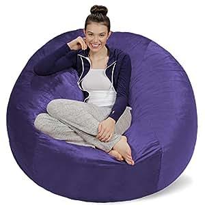 Sofa Sack - Bean Bags AMZBB-5SK-CS11 Bean Bag Chair, 5', Purple