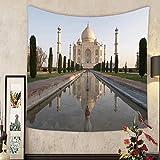Madeleine Ellis Custom tapestry taj mahal agra india