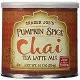 Trader Joes Pumpkin Spice Chai Tea Latte Mix