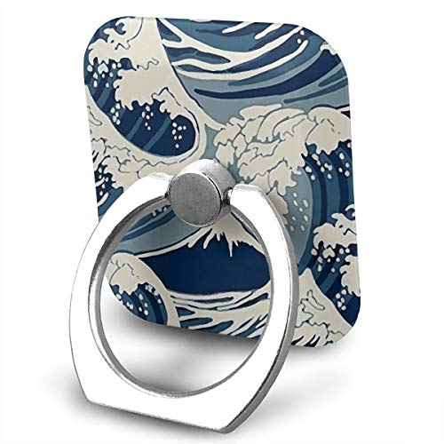- FISHISOK Mt Fuji Under The Waves Cell Phone Ring Holder, Finger Grip Stand Holder,360 Degrees Rotation,Compatible with iPhone,Samsung,Phone Case,etc