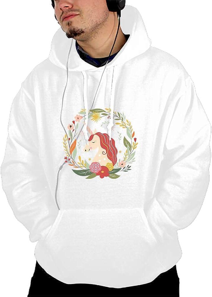 WUJIU Unisex Angel Dog 3D Printed Big Pockets Pullover Hoodie Sweatshirt