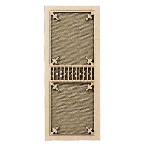 - Dollhouse Miniature Fancy Victorian Screen Door
