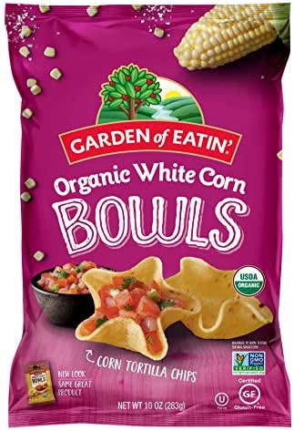 Tortilla & Corn Chips: Garden of Eatin' White Corn Bowls