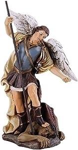 Church Supply Warehouse Joseph Studio Renaissance Saint Michael the Archangel Religious Figurine 46480 Multicolor