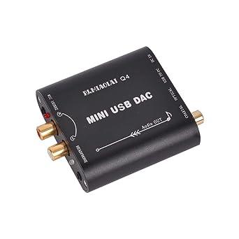 Amazon.com: ModuleFly Q4 CM108AH HiFi 24Bit 192Khz Fibra ...