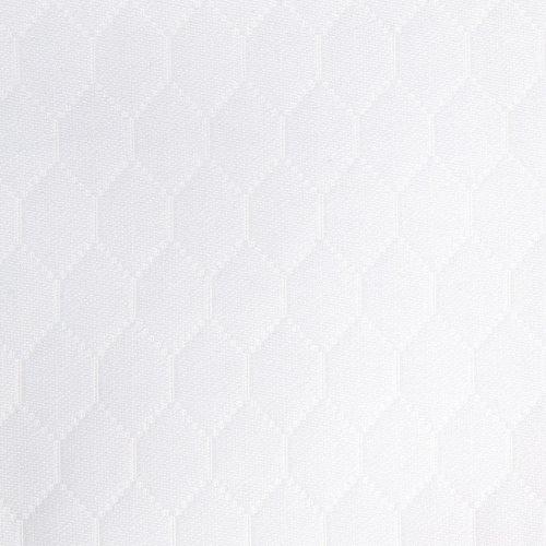 Matelasse Boudoir Sham - Sferra Favo Bed Linens - White, King Coverlet (114
