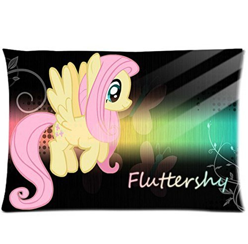 Famous Cartoon My Little Pony Cute and Lovely Fluttershy Pillow Case 50% Cotton, 50% Polyester 20