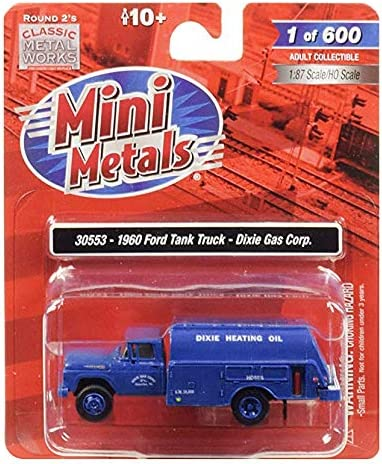Classic Metal 1//87 HO Ford Tank Truck 1960 Dixie Gas Corporation 30553