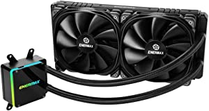 Enermax ELC-LTTRTO280-TBP LIQTECH 280 TR4 II Addressable RGB AIO CPU Liquid Cooler Black