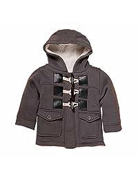 Kids Baby Boys' Winter Warm Hoodie Duffle Fleece Outerwear Jacket Coat
