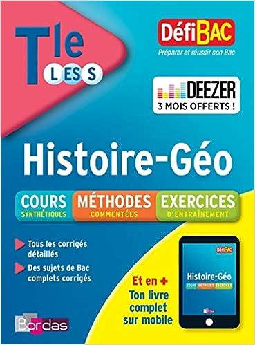 Histoire-géographie Tle L-ES-S: Collectif: 9782047356234: Amazon.com: Books