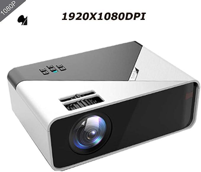 Ai LIFE Proiettore da 16000 Lumen Videoproiettore Portatile Full HD 1080p Smartphone Dual HD e ingressi USB per Film Sport Compatibile con Laptop Giochi 1920 x 1080