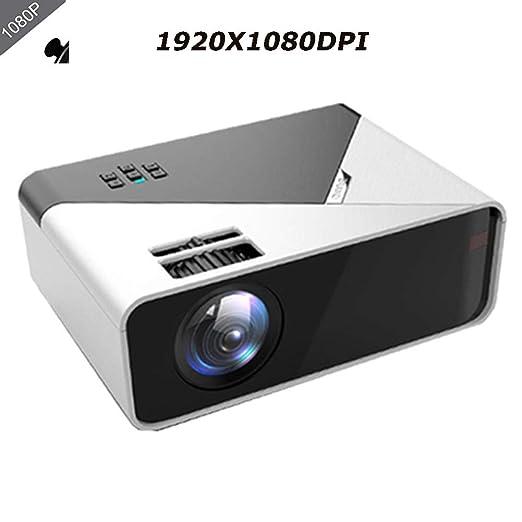 QLPP Mini proyector Portable, Full HD 1080P LED 10.000 lúmenes de ...