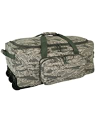Air Force Digital Camo Deployment/Container Bag with Tri-Wheel
