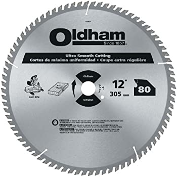 Oldham 12080tp All Purpose 12 Inch 80 Tooth Atb Trim And