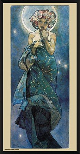 Alphonse Decorative Nouveau Framed Poster product image