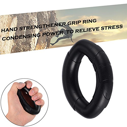 Angela&Alex Hand Strength Trainer, Hand Exerciser Kit - 5 Pack - Hand Gripper Adjustable Resistance 22-88Lbs, Finger Exerciser, Finger Stretcher, Exercise Ring Resistance 60LBS, Package Bag by Angela&Alex (Image #4)