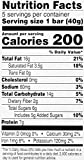 Wickedly Prime Nut Bar, Nuts & Sea Salt, 1.4 Ounce (Pack of 5)