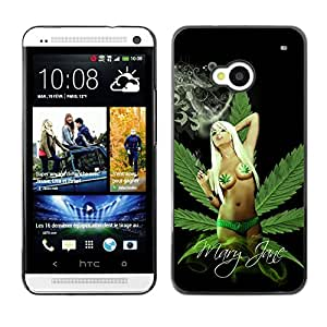 - Marijuana Kush Weed - - Fashion Dream Catcher Design Hard Plastic Protective Case Cover FOR HTC One M7 Retro Candy