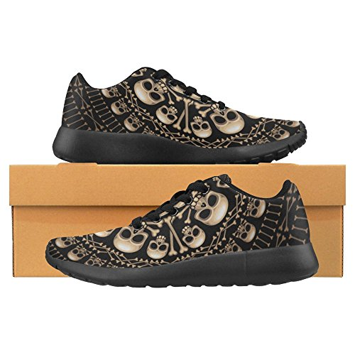 InterestPrint Womens Jogging Running Sneaker Lightweight Go Easy Walking Casual Comfort Sports Running Shoes Multi 12 IeKwNKA