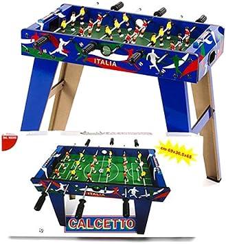 Dal Negro 53714 - Futbolín con Patas, diseño de Italia [Importado ...