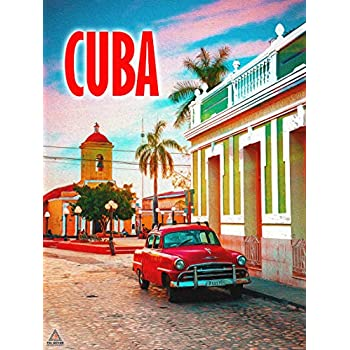 777 Tri-Seven Entertainment Cuba Poster Wall Art Print (18x24)