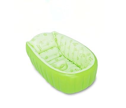 Bañera de Bañera inflable para bebés bañera de bebé recién nacido ...